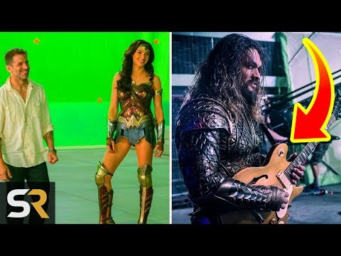 Justice League: 5 Behind The Scenes Moments You Won't Believe