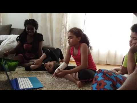 Biafran children in Finland learning igbo
