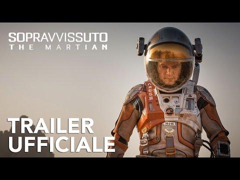 Preview Trailer Sopravvissuto-The Martian, trailer italiano