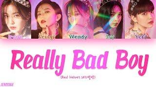 Download Video Red Velvet (레드벨벳) - 'RBB (Really Bad Boy) (Color Coded Lyrics Han/Rom/Eng)  Jendukie MP3 3GP MP4