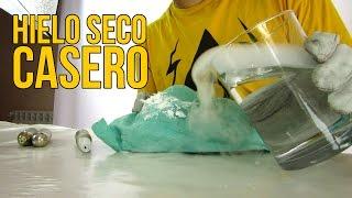 Cómo hacer hielo seco casero Experimentos Caseros