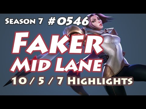 SKT T1 Faker - Fiora vs Zed - KR LOL Highlights | 페이커 피오라 - Thời lượng: 4:15.