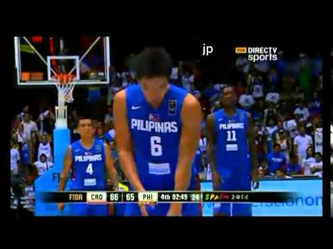 4th - 3rd quarter here http://www.youtube.com/watch?v=p2SWJNmMUpA&feature=youtu.be OT quarter here http://www.youtube.com/watch?v=pMGfAir2dFU&feature=youtu.be 2014 FIBA Basketball World Cup in Spain....