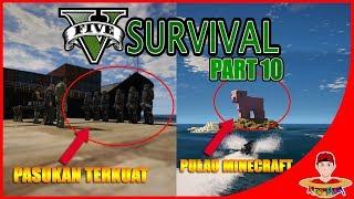 Video GTA V SURVIVAL (10) - REKRUT PASUKAN TERKUAT & ADA PULAU MINECRAFT !! MP3, 3GP, MP4, WEBM, AVI, FLV Oktober 2017