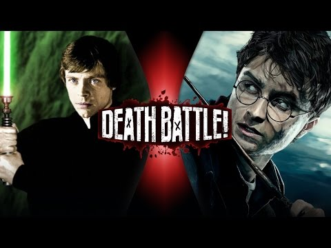 DEATH BATTLE! - Luke Skywalker VS Harry Potter Video