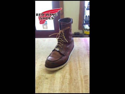Red Wing Sole Replacement on a model # 8830 - Recrafting