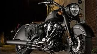 6. 2016 Indian Chief Dark Horse Unveiled | Blacked-Out Boldness