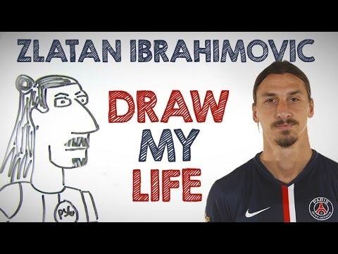 how to draw zlatan