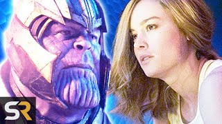 Captain Marvel Revealed How Thanos Got The Mind Stone by Screen Rant