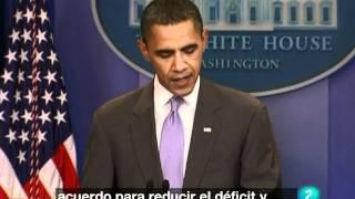 Mara Torres - Obama a merced del Tea Party por evitar la suspe...