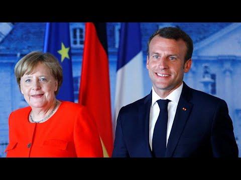Μέρκελ-Μακρόν συμφώνησαν για προϋπολογισμό της ευρωζώνης…