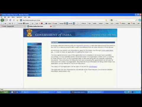 Indian Visa Processing & Application e-token