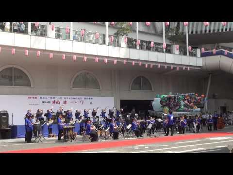 酒井根中学校の演奏2015-5 宝島