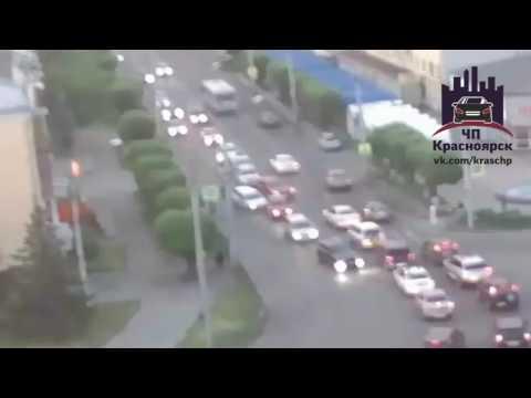 Партизана Железняка - Аэровокзальная 16.06.2016 онлайн видео