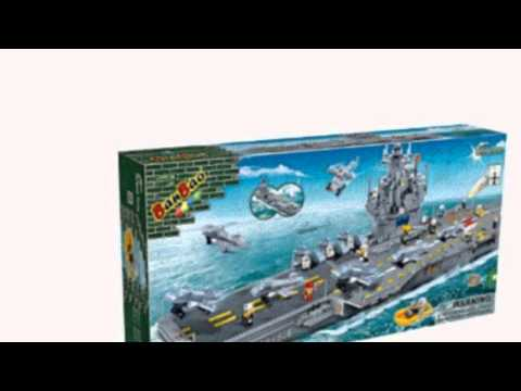 Video Video advertisement for the Aircraft Carrier Toy Building Set