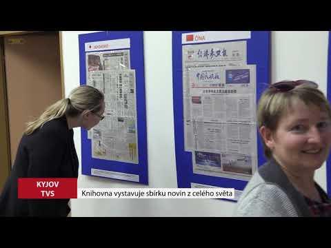 TVS Kyjov - Knihovna vystavuje sbírku novin z celého světa