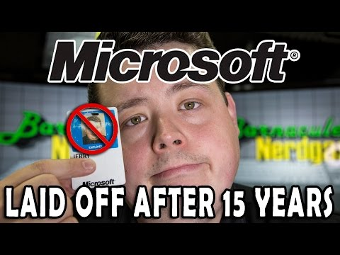 Ex Microsoft Employee speaks out on being laid off