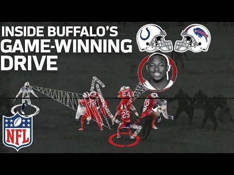 Video: How LeSean McCoy & the Bills Dashed Through the Snow on their Game-Winning Drive | NFL Highlights