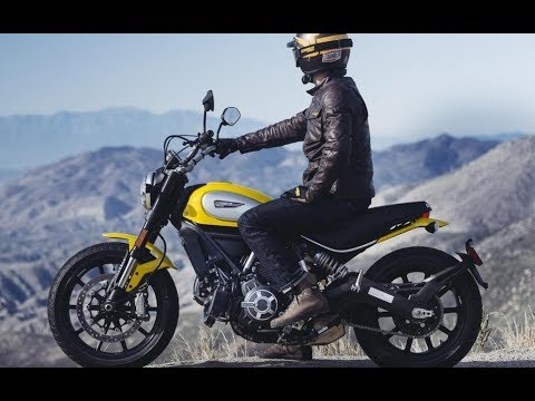 Ducati Scrambler   - New Retro Motorcycle