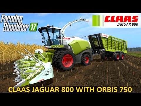 Claas Jaguar 800 Series Pack v1.1.0.0
