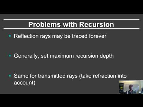 Online Graphics Course Raytracing 1: Shadows and Reflections