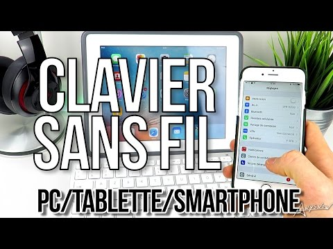 ⌨ Un clavier sans fil pour Smartphones, Tablettes, PC & Mac ! 📲🖥