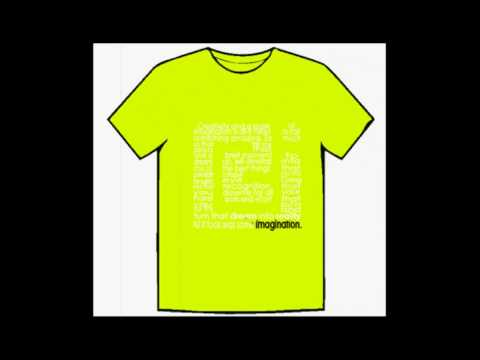 RAW imagination – Quick Promo vid of Examples of Promotional T-Shirt Designs to come