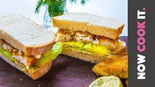 Incredible Fried Fish Sandwich Recipe by SORTEDfood
