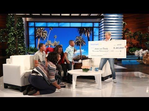 Ellen Surprises an Amazing Family from Philadelphia