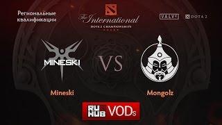 Mineski vs Mongolz, game 1