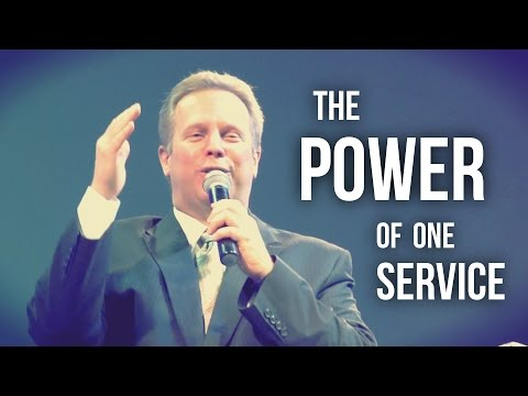"""The Power of One Service"" – Pastor Raymond Woodward"