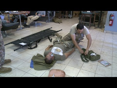 This week, service members at Camp Lemonnier Djibouti Africa, gained advanced medical training at the Combat Lifesaver Course. Watch the video to see students learn hoe to control bleeding, manage an airway, and handle chest trauma!