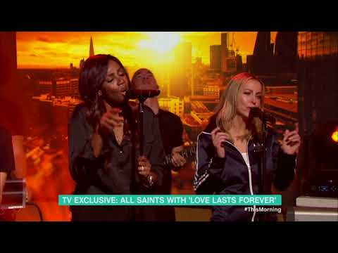 "All Saints Perform ""Love Lasts Forever"" At This Morning (half Of The Song)"