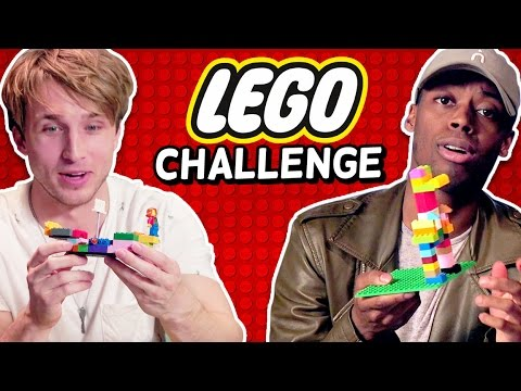 LEGO BUILD CHALLENGE (Squad Vlogs)