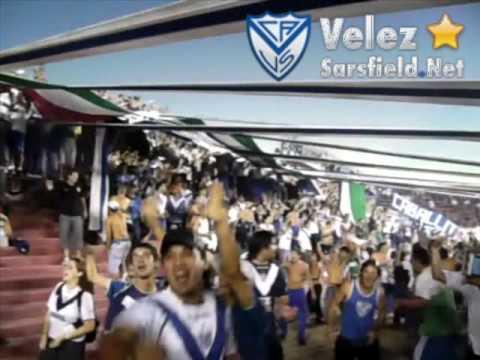 Video - Colón 2-4 Vélez [Clausura 2009] 2/3 - La Pandilla de Liniers - Vélez Sarsfield - Argentina