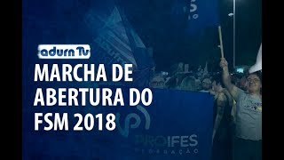 Programa ADURN TV 124 - Marcha de abertura do FSM 2018