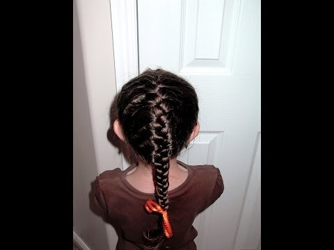 french braid - SImple instruction on how to do a french braid on your little girl's hair. Check out more easy, fun, cute little girl's hairstyles at http://shaunellshair.bl...