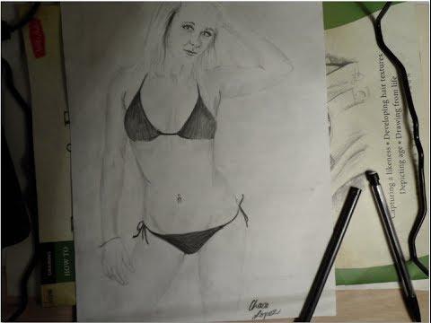 16 year old in a bikini