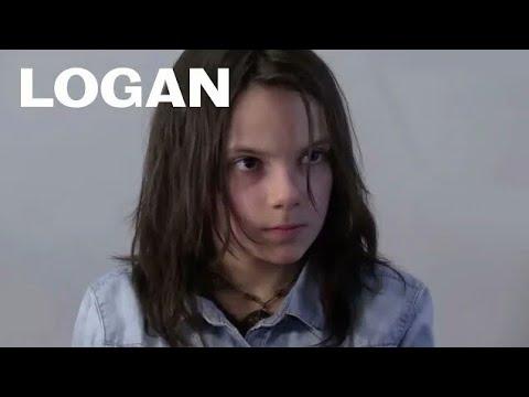 Logan Dafne Keen's Audition Tape with Hugh Jackman 20th Century Fox Full-HD
