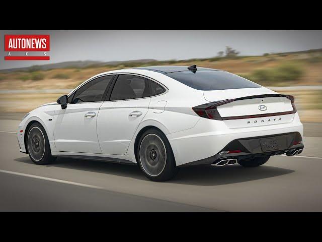 Новая Hyundai Sonata N Line: быстрее Camry 3.5 V6!?