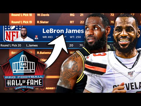 What if Lebron James played in the NFL?