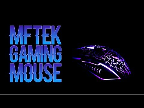 MFTEK Gaming Mouse [2000DPI] [Programmable] [Breathing Light] with 7 Buttons for PC (Review)