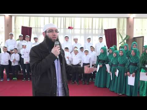 Omer Bajrami në hatmen e nxënësve të Dr. Zekerija Bajrami