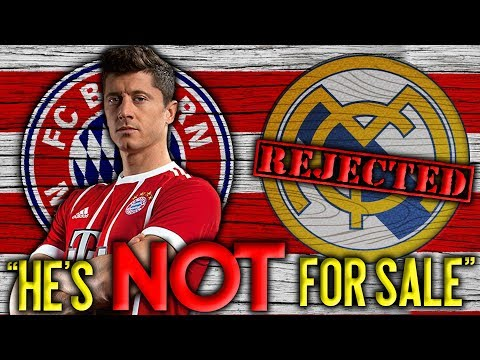 Video: BREAKING: Bayern Munich REJECT Real Madrid's HUGE Bid For Lewandowski! | Transfer Talk