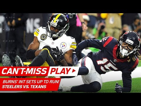 Video: Artie Burns' Crazy End Zone INT Sets Up Roosevelt Nix's TD Dive! | Can't-Miss Play | NFL Wk 16