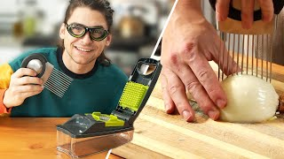 I Tried Onion Chopping Gadgets • Tasty by Tasty