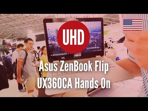 Asus ZenBook Flip UX360CA Hands On [4K UHD]