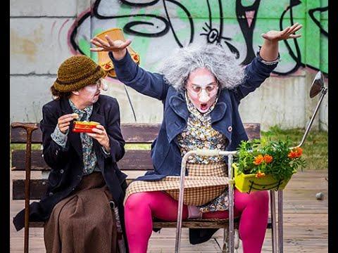 Germaine et Germaine au Festival de Rue d'Aurillac