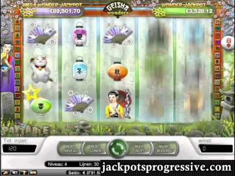 Geisha Wonders Jackpot Slot Big WIN! Over €6000!