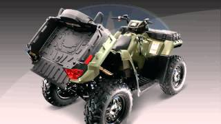 5. polaris sportsman 400 h.o